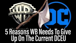 5 Reasons WB Should Abandon The Current DCEU streaming
