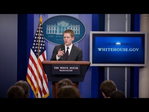 3/18/13: White House Press Briefing
