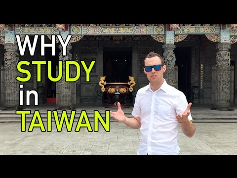 Why STUDY in Taiwan?