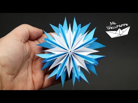 Sterne basteln zu Weihnachten - DIY