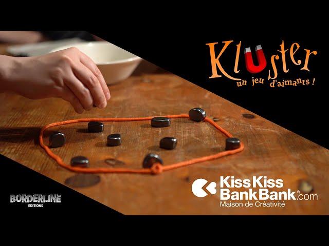 Kluster, un jeu d'aimants !
