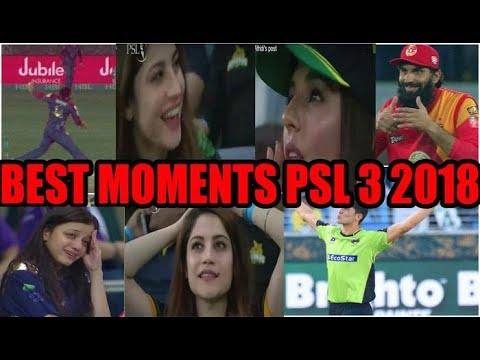 PSL 3 (2018) Top 10 Best and Amazing Moments Caught On Camera|Must Watch IT | Waoooooo!!!!!!