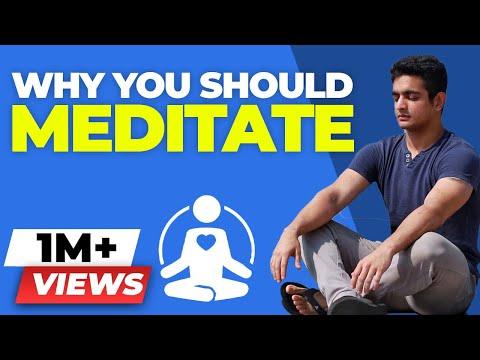 Why YOU should Meditate - How to Meditate at Home for BEGINNERS - BeerBiceps Meditation