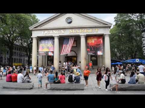 The Historic Quincy Market Tour - Boston (HD)