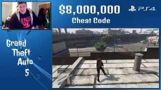 """GTA 5 $8 Million Dollar Cheat Code"""