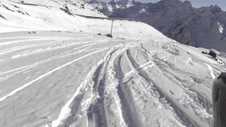 14.01.2015 Эльбрус спуск 4 Kemper Freestyle
