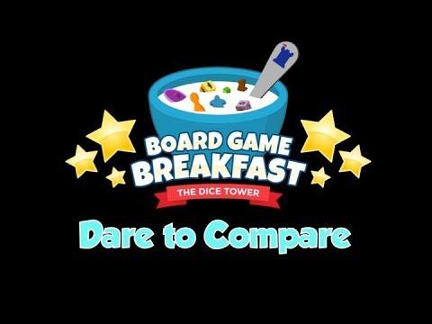 Board Game Breakfast - Dare to Compare