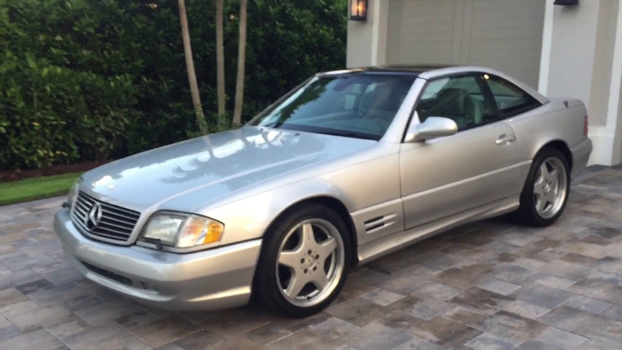 Mercedes Sl500 For Sale >> 2001 Mercedes Benz Sl500 Roadster For Sale By Auto Europa Naples