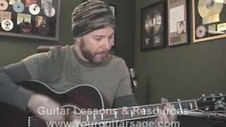 Guitar Lessons - Refugee by Tom Petty cover Beginners Acoustic songs heartbreakers