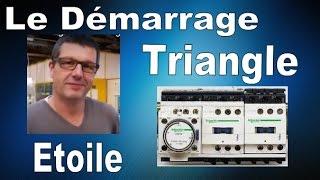 EP3  le démarrage etoile triangle   circuit de puissance  BAC PRO ELEEC, MEI et TFCA