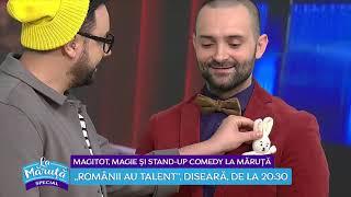 Magitot, magie si stand-up comedy la Maruta