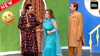 ZAFRI KHAN, IFTIKHAR THAKUR & AFREEN KHAN 2019 New Stage Drama Best Comedy Clip ||Very Funny😂