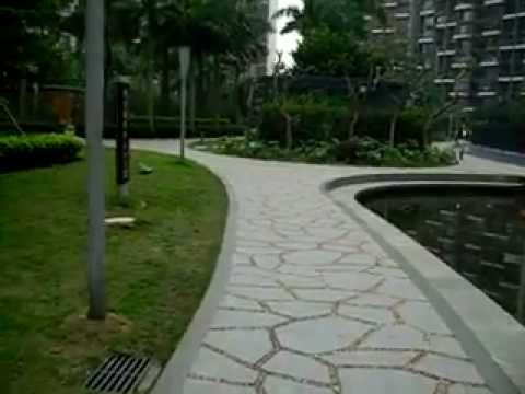 Walking into Apartment Complex in Shenzhen, China