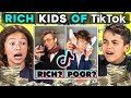 Kids React To Rich Kids Of Tik Tok Compi