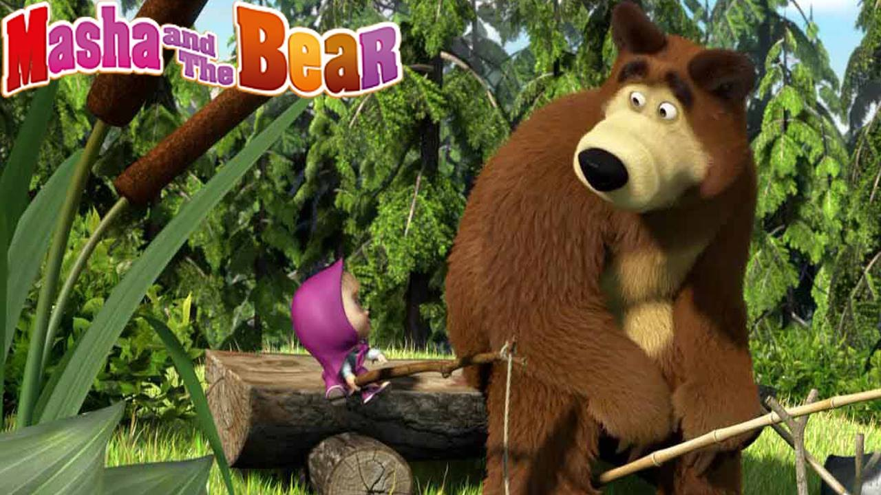 → Masha And The Bear - Room Cleaning & Laundry Day 2  (Game For Children)