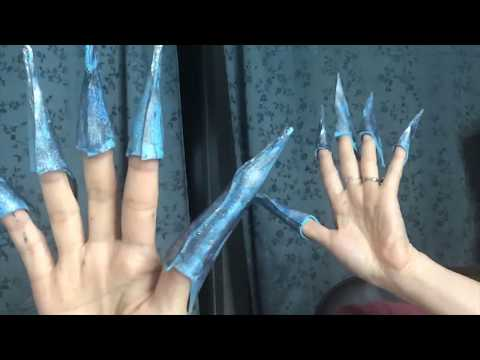 How to make DIY Foam Finger Claws for Cosplay!