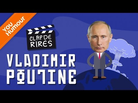 CLAP DE RIRES - Vladimir Poutine