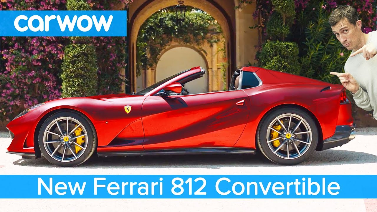 New 211mph Ferrari convertible - it has a N/A V12!
