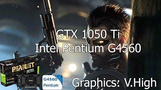 Deus Ex Mankind Divided [PC] GTX 1050 Ti 4GB GDDR5 & Intel Pentium G4560 & 8 GB RAM