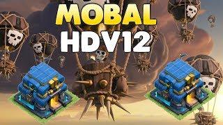 Clash of Clans - HDV12 MOBAL (Molosse ballon démolisseur)