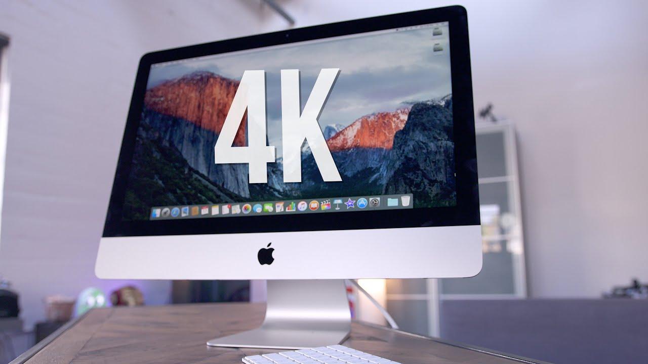 21 5 Inch 4k Imac 2015 W Retina Display Review Youtube