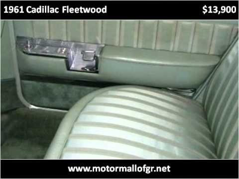 1961 cadillac fleetwood used cars grand rapids mi youtube for Used car motor mall gr