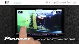 LICENSE REAR VIEW //REVERSE //BACK UP CAMERA FOR PIONEER AVH-X7800BT AVHX7800BT