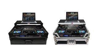Flight Case for Pioneer DDJ1000 & DDJ1000SRT Digital Controller W-Laptop Shelf and Wheels