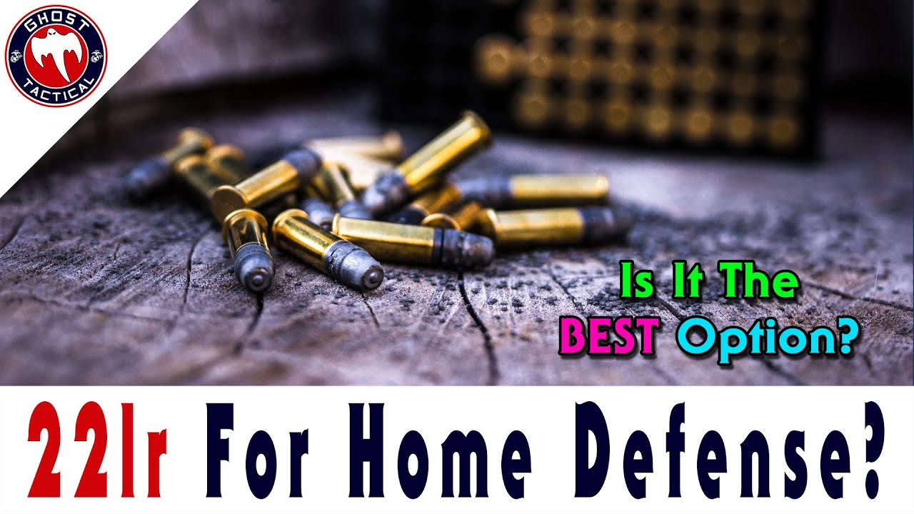 Is 22lr The Best Caliber Option For Home Defense?