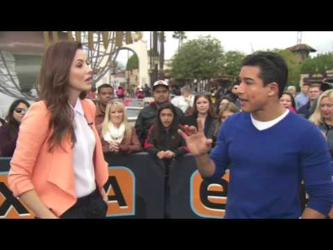 Julie Gonzalo on ExtraTV 02212014