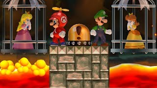 New Super Mario Bros. Wii - Mario and Luigi wants to rescue Peach and Daisy