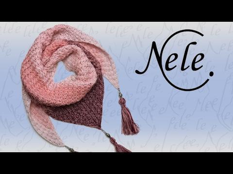 """Tuch stricken, einfaches Stricktuch """"Elfling"""",  DIY Anleitung by NeleC."""