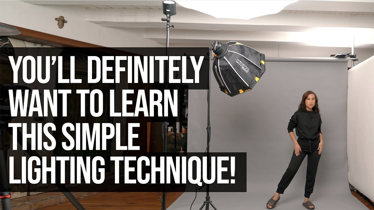 You'll definitely want to Learn this Simple Lighting Technique! A Photography and Lighting Tutorial