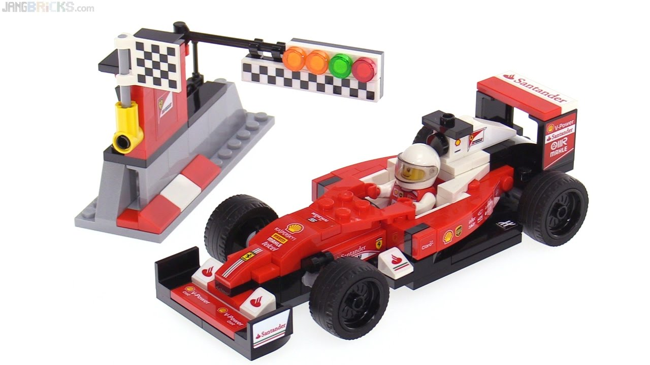 lego speed champions ferrari formula one sf16 h car review