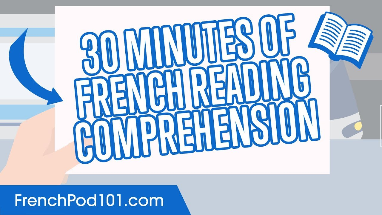 small resolution of 30 Minutes of French Reading Comprehension - YouTube