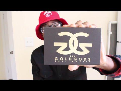 The Gold Gods: Lion Head Necklace, Watch Link Bracelet Unboxing & Review