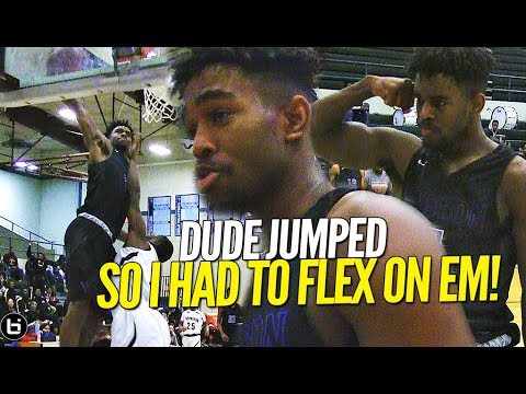 DUDE JUMPED AND GOT FLEXXED ON!! Donyae McCaskill Gets The MEAN DUNK On Defender Off The Break!!