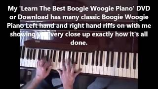Learn Fantastic Boogie Woogie Piano Lesson /Tutorial. Terry Miles
