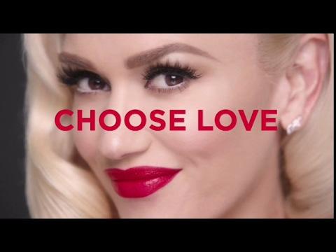 Gwen Stefani Revlon Choose Love Commercial
