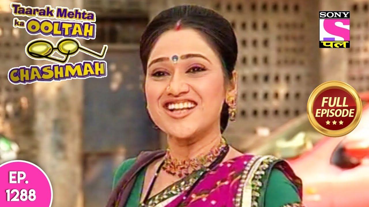 Taarak Mehta Ka Ooltah Chashmah - Full Episode 1288 - 05th
