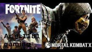 Fortnite + mortal kombat