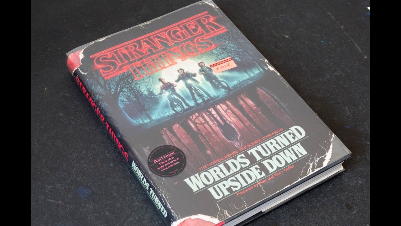 Book Flip Stranger Things Worlds Turned Upside Down