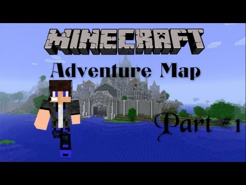 Minecraft Adventure map- Part 1 [Greek]