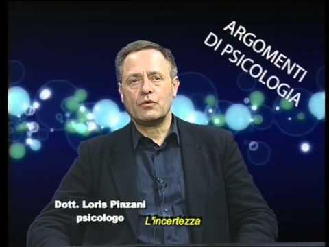 Loris Pinzani Argomenti di Psicologia L'incertezza