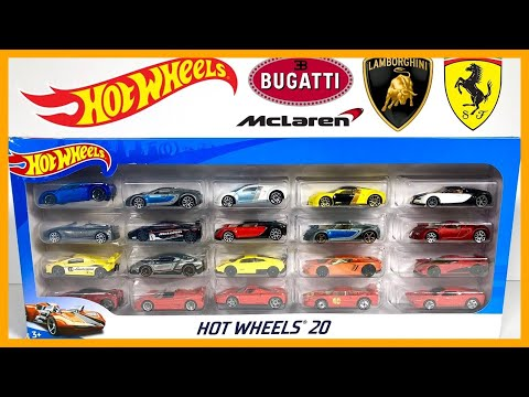 HOT WHEELS HYPER CAR EXOTICS 20 PACK