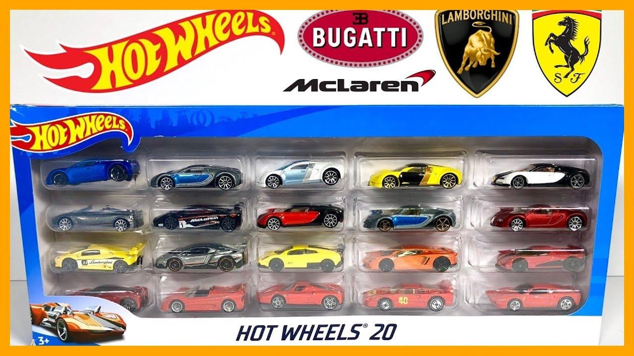 hot wheels hyper car exotics 20 pack youtube. Black Bedroom Furniture Sets. Home Design Ideas