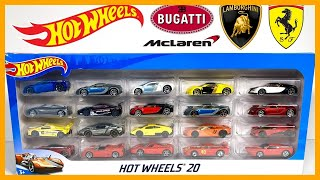 HOT WHEELS HYPER CAR EXOTICS 20 PACK