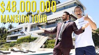 TOURING A 49 MILLION DOLLAR MANSION!