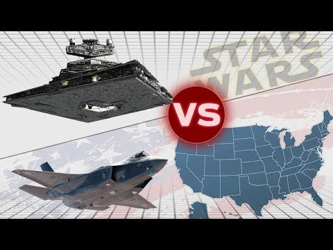 The United States Military vs One Imperial II Star Destroyer