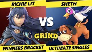 The Grind 147 Winners Bracket - Richie Lit (Lucina) Vs. SHETH (Duck Hunt) Smash Ultimate - SSBU